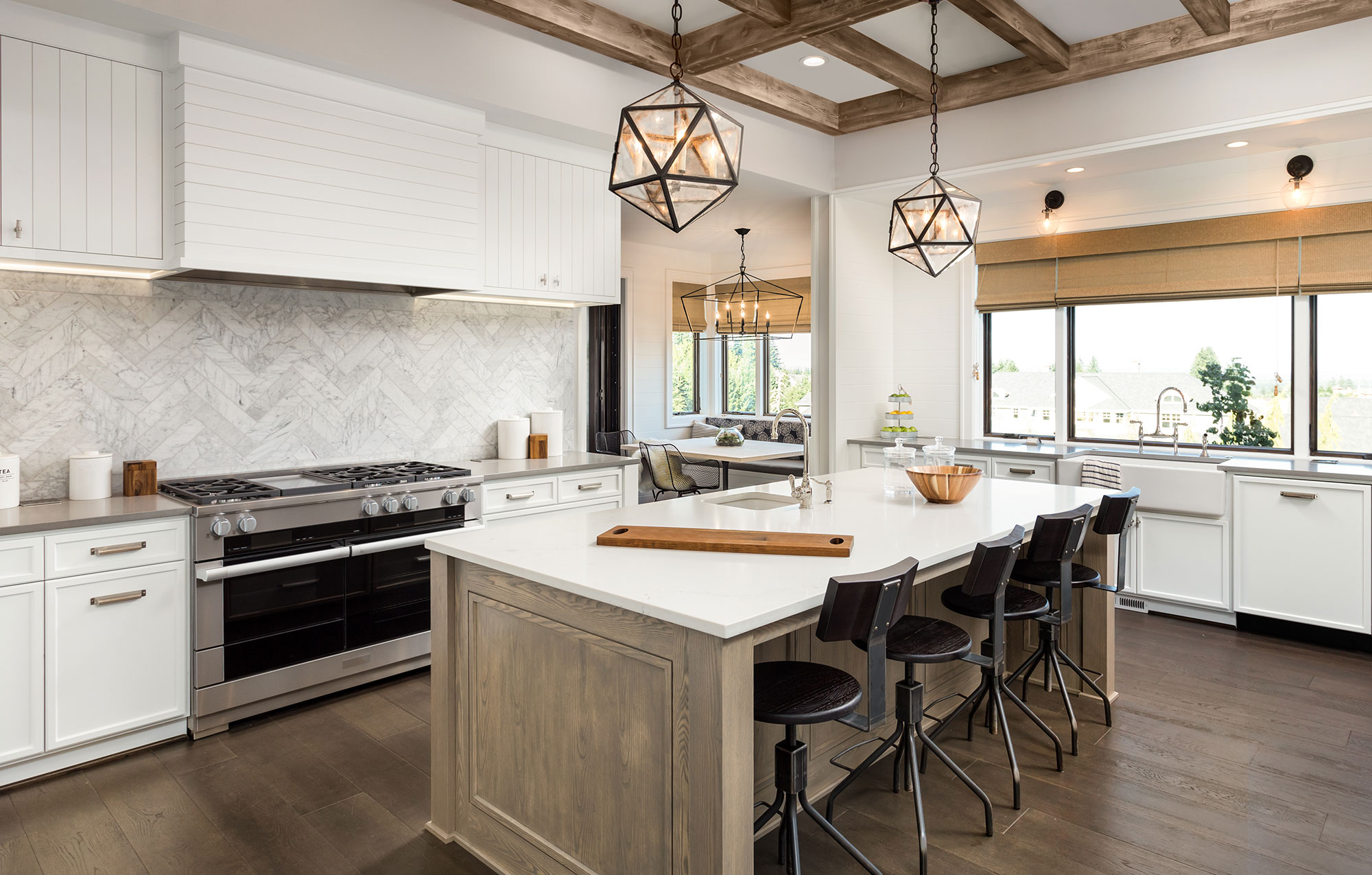 White and Oak Kitchen