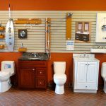 Bathroom Fixture Display