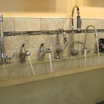 Faucets Running