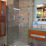 A remodeled shower available through John J. Cahill Inc. in Evanston, IL
