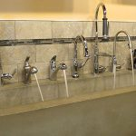 Different faucets available from John J. Cahill Inc. in Evanston, IL