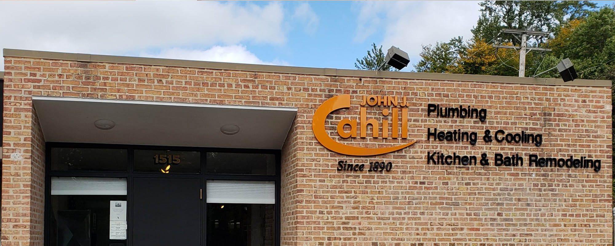 John J. Cahill Inc. Banner