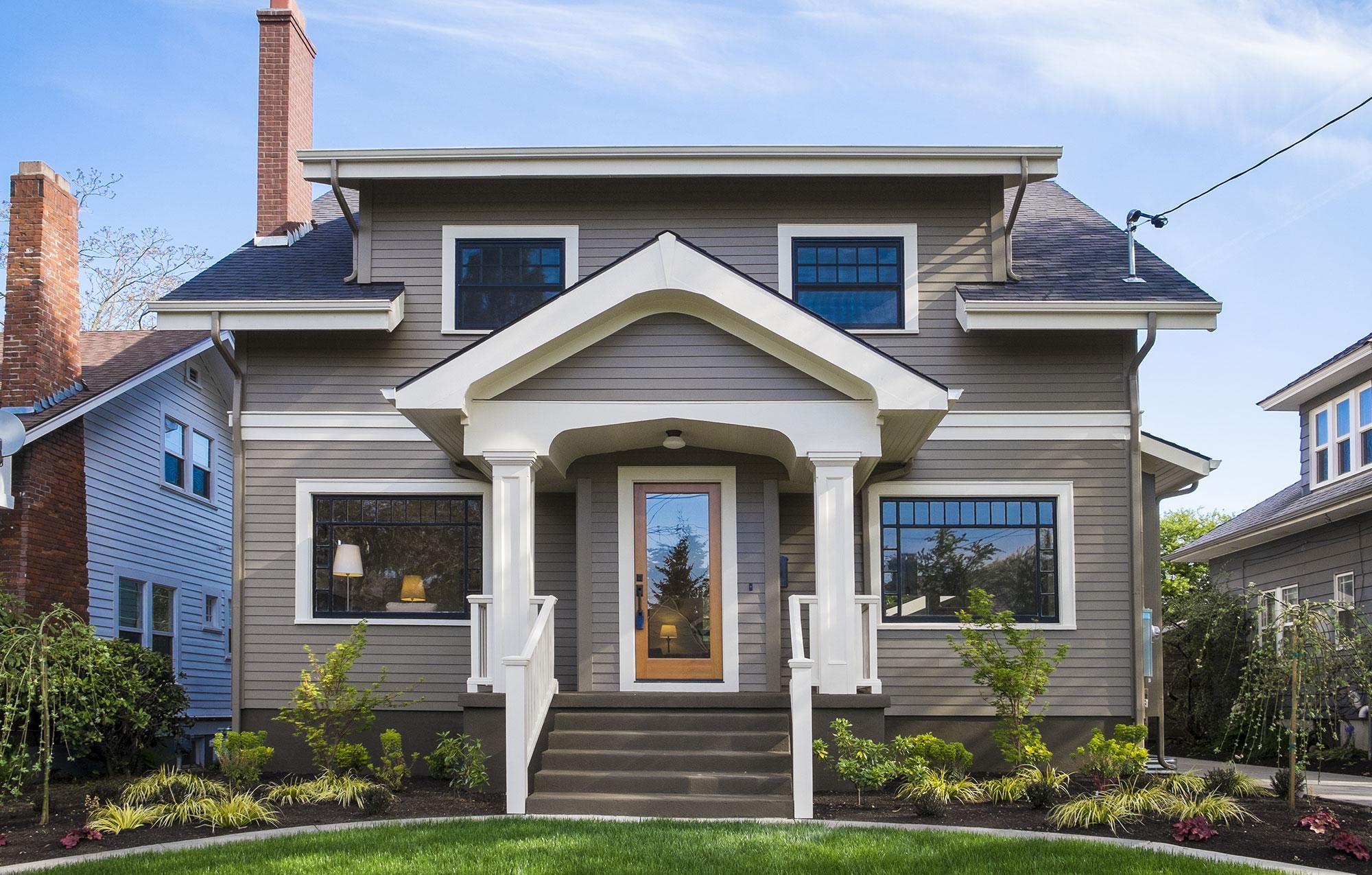 Beautiful Gray Home