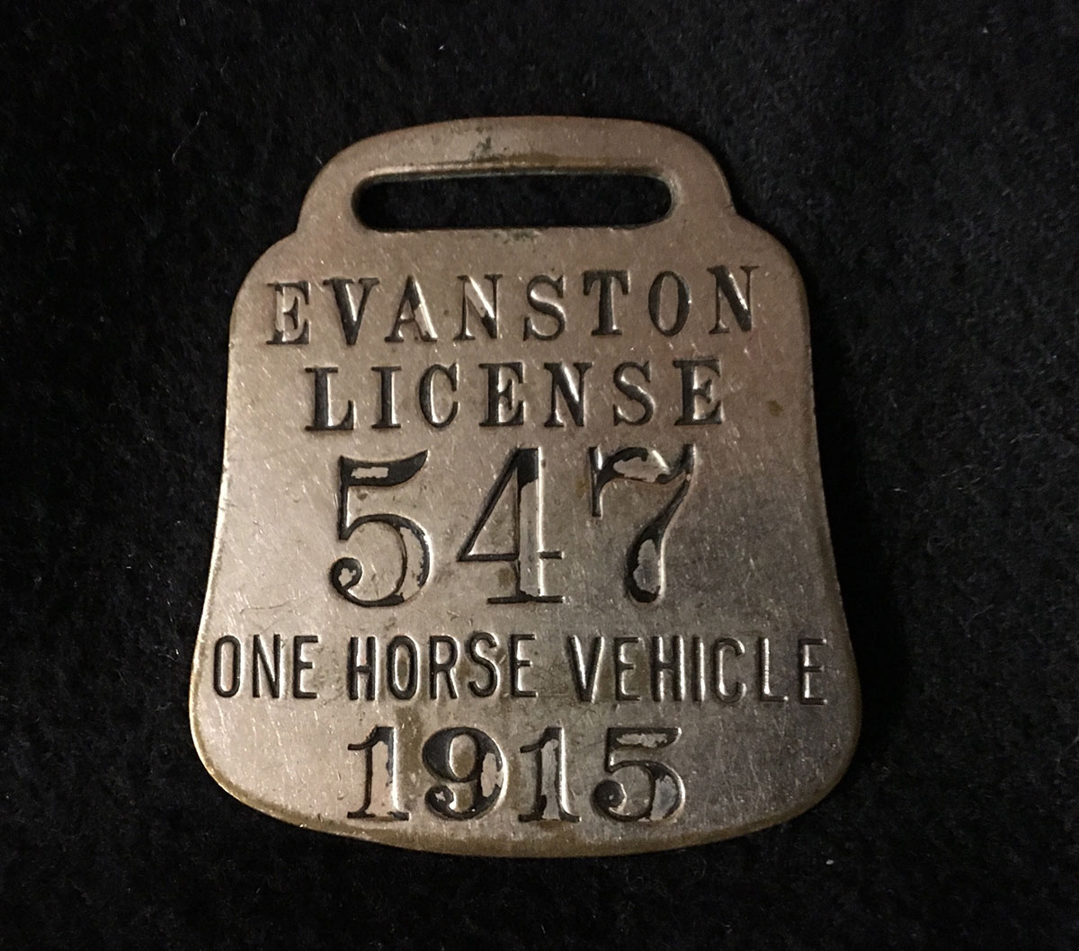 One Horse Vehicle License